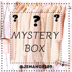• Mystery Box • In order to minimize, I'm cleaning out my personal closet of gently worn or new items. These are not items you see listed In my postmark closet, but are similar in style. In your mystery box I will include size small or medium tops, tees, accessories, jewelry, skirts, or dresses. Trust me it's totally worth it! Please comment your size, style and color preference so I can customize your box for you!  Small box=$25 (2-4 tops+ accessories, etc) or Large box= $50 (4-6…