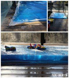 DIY Water Blob - Giant Sensory Water Bubble!! -