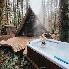 "11.6k Likes, 194 Comments - Wild Cabins (@wild_cabins) on Instagram: ""Photo by: @emilyjoangreene // @wildcabins_magazine"""