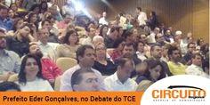 Prefeito de Jeriquara vai ao Ciclo de Debates do TCE e fala sobre transparência