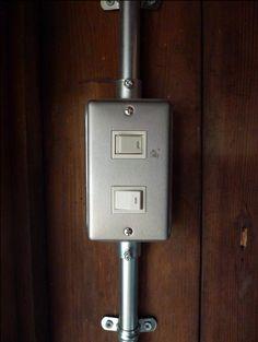 鋼板スイッチボックス(9/24)の画像:吉村理建築設計事務所のブログ | 奈良・大阪を拠点に