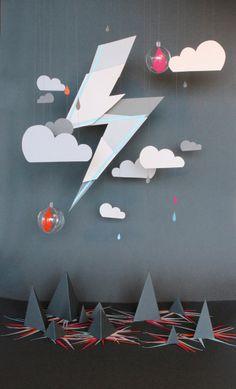 SO COOL!!! Paper cutting and folding art by Pointropnenfaut :: Aurélie Schwartzmann