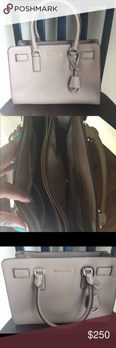 Michael Kors bag Leather Caramel colored satchel Michael Kors Bags Satchels