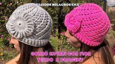 Como tejer rosas a crochet - Make easy Knitting beautiful bouquets of roses Bonnet Crochet, Crochet Cap, Crochet Beanie, Diy Crochet, Crochet Stitches, Learn Crochet, Crochet Flower Patterns, Crochet Patterns For Beginners, Crochet Designs