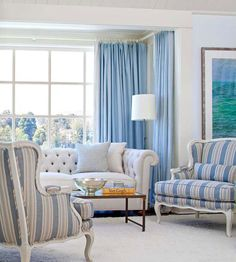 Furniture Arrangement Ideas for Small Living Rooms. Make your small living room seem larger with these decorating tricks. Small Living Room Furniture, Living Room Furniture Arrangement, Small Living Rooms, My Living Room, Home And Living, Living Room Decor, Modern Living, Arranging Furniture, Tiny Living