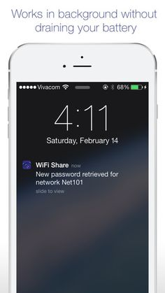 WiFi Share - Helps you easily share your wifi network password on the App Store