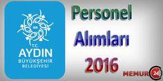 Aydın Büyükşehir Belediyesi Memur Personel Alımı 2016