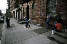 Breakdancing in the East Village/Lower East Side  New York City, 1984  Steve McCurry