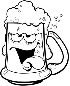 Illustration about Drunk mug of beer Cartoon Vector Clipart created in Adobe Illustrator in EPS format for illustration use in web and print. Illustration of adobe, drunk, format - 41776434 Beer Clipart, Vector Clipart, Mug Drawing, Drawing Sketches, Beer Cartoon, Beer Art, Graphic Design Posters, Graphic Designers, Cartoon Design