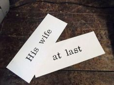 Check out this item in my Etsy shop https://www.etsy.com/listing/263187678/vintage-old-school-flash-card-his-wife