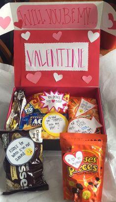 Valentine Hamper | 23 DIY Valentines Crafts for Boyfriend