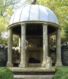 The Temple by Redwood Stone.  This can be the temple to Diana as well as a classical outdoor room by the stone house.