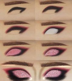 Teal Makeup, Dope Makeup, Edgy Makeup, Face Makeup Tips, Makeup Eye Looks, Eye Makeup Art, Creative Eye Makeup, Colorful Eye Makeup, 1930s Makeup