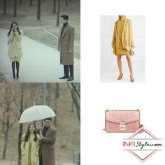 As Korean drama Crash Landing On You comes to a close, Son Ye-Jin made sure to fill each scene with memorable outfits. Belted Coat, Pleated Maxi, Silk Chiffon, Everyday Outfits, Bag Accessories, How To Memorize Things, Floral Prints, Mini Skirts, Style Inspiration