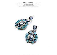 Blue Stud Earrings //Price: $5.95 & FREE Shipping //     #love #beautiful