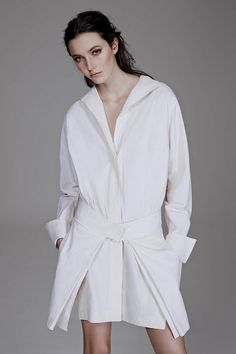 Donna Karan shirt dress