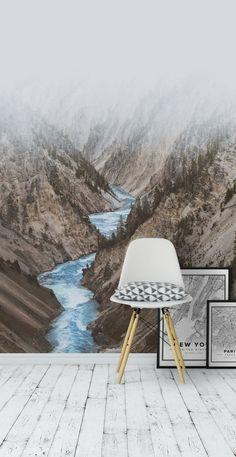 River valley Tapet
