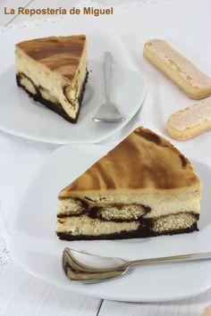 Tiramisu Chesecakes ( 2 postres en 1 ) – Tvcocina . Recetas de Cocina Gourmet Restaurantes Vinos Vídeos
