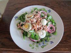 Salade Van Veldsla En Hollandse Garnalen recept   Smulweb.nl