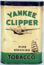 Very rare Yankee Clipper pocket tin
