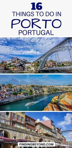 Looking for things to do in #Porto, Portugal? Check out our list of the best Porto must do's, things to see and top recommendations. #portugal #travel #portotips #portoguides #portugalguides #portugaltips #portugalhighlights #bestofporto | What to do in Porto | Places to visit in Porto | Top things to do in Porto | #traveltips #traveleurope #thingstodo #visitlisbon #visitinglisbon | Must see things in Porto | #destination