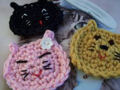 From Aura: Crochet Appliques