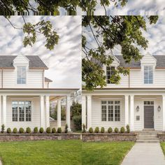 - Hello Lovely White English farmhouse style home by The Fox Group. Come be inspired these English Farmhouse Style Decorating Ideas. House Design, House, Cottage Style, Modern Exterior, Exterior Design, Beach Cottage Style, Modern Farmhouse Exterior, English Farmhouse, Farmhouse Style House