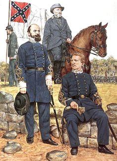 • Lieutenat-General Richard Ewell  • Lieutenat-General Jubal Early  • Major-General John Kershaw