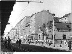 S-Bahnhof Schönhauser Allee, August 1959