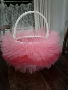 Tutu Easter basket!