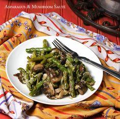 Asparagus & Mushroom