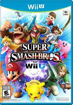 Super Smash Bros for Wii U Box Art.png Via Super Smash Bros. for Wii U and Wikipedia entry. (Sora Ltd, Bandai Namco, Nintendo - Kirby Nintendo, Video Game Nintendo, Nintendo Wii U Games, Nintendo Characters, Wii Games, Nintendo Switch, Nintendo Pokemon, Super Nintendo, Buy Nintendo