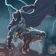 Drawing Dc Comics Batman by Rafael de Latorre colors by Marco Lesko Batman Vs, Batman Dark, Batman The Dark Knight, Batman Artwork, Batman Wallpaper, Batgirl, Character Drawing, Comic Character, Comic Books Art