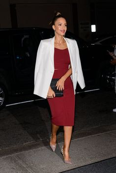 Pin for Later: Jessica Alba and Cash Warren Have a Sweet Date Night in NYC