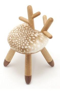 Deer Decor: Yes, It's Bambi! | this would be super cute in a woodlands theme nursery! I dieeee!