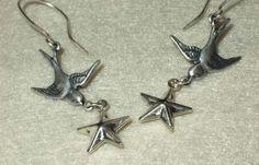 rockstar .earrings . by AuntVestas on Etsy, $18.00