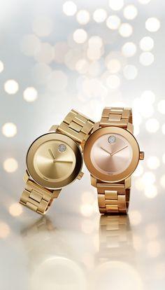 Bold and beautiful: Movado watch