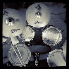 Pearl Drum Company, Zildjian....the best brands in the drumming world...welp, they are what I use anyway