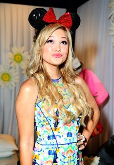 Olivia Holt in Minnie Gifting Lounge At The 2013 Radio Disney Awards