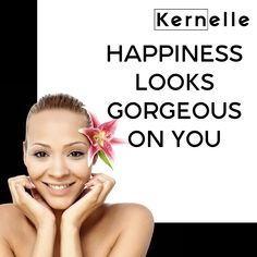 Happiness Looks Gorgeous On You.    #happiness #gorgeous #kernelle    📍www.kernelle.com Looking Gorgeous, Happiness, Happy, Bonheur, Ser Feliz, Being Happy