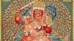 An der Spitze der chinesischen Auktionserfolge im Jahr 2014 steht eine tibetische Tapisserie. Ihr Käufer gehört zu den ambitionierten Milliardären des Landes.