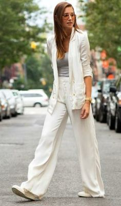 Downtown suiting: emerging womenswear trend