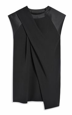 Draped Neck Muscle Tee by Alexander Wang