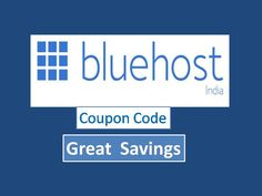 Get bigger discounts on Bluehost hosting by applying Bluehost coupon code. Great savings on every order made through the coupon code.