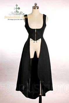 If I could find the right top and skirt to go underneath for the vampire shoot, this would be incredible