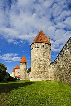 Tower square in Tallinn, Estonia