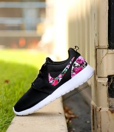 Custom Floral Roses Nike Roshe Run Shoes Fabric Pattern Men's Women's Birthday Present, Perfect Gift, Customized Nike Shoes by DailyApparelCustoms on Etsy https://www.etsy.com/listing/233056918/custom-floral-roses-nike-roshe-run-shoes