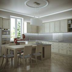 progetto cucina abitazione privata
