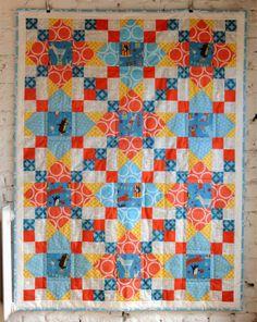 Circus Circus quilt   Lieblingsdecke Quilts
