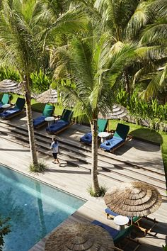 A boutique hotel in Bali, Indonesia that stays true to its roots when it comes to its design.